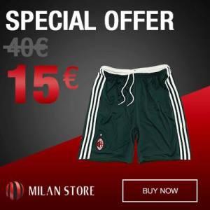 milan shorts